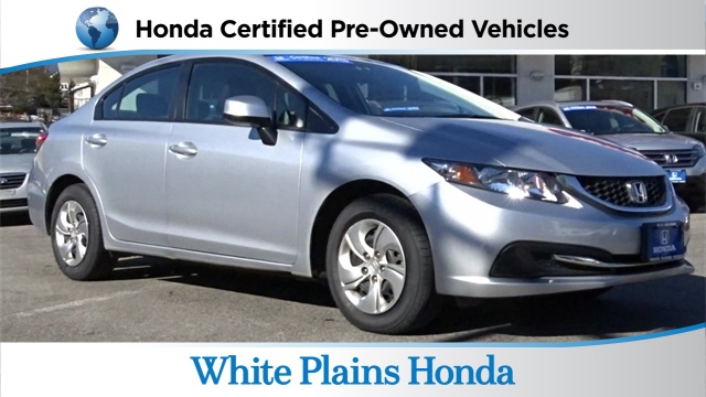 Certified pre owned 2012 honda civic lx 2d coupe in white for Certified used honda civic